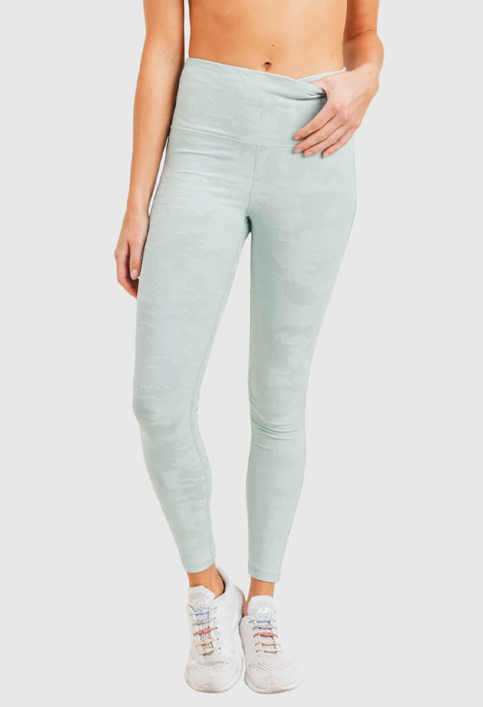 Mono B Cleo Leggings-Mint