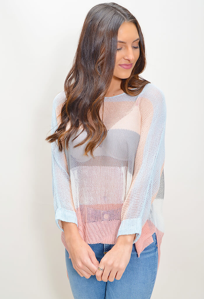 Sunset Knit Top