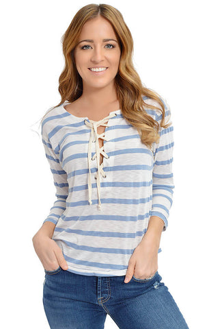 Chambray My Day Top