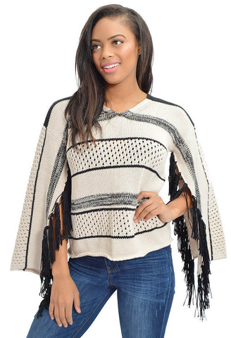 Kingdom Fringed Jumper
