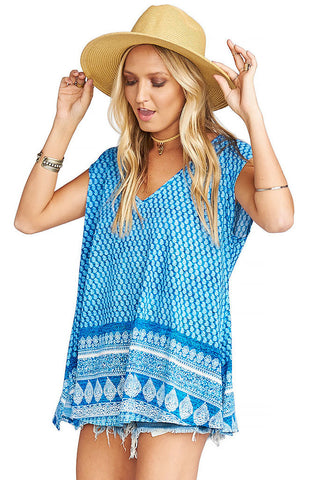 Carter Tunic - Henna Wave