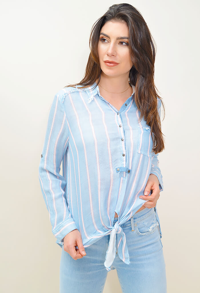 Taffy Buttondown Top