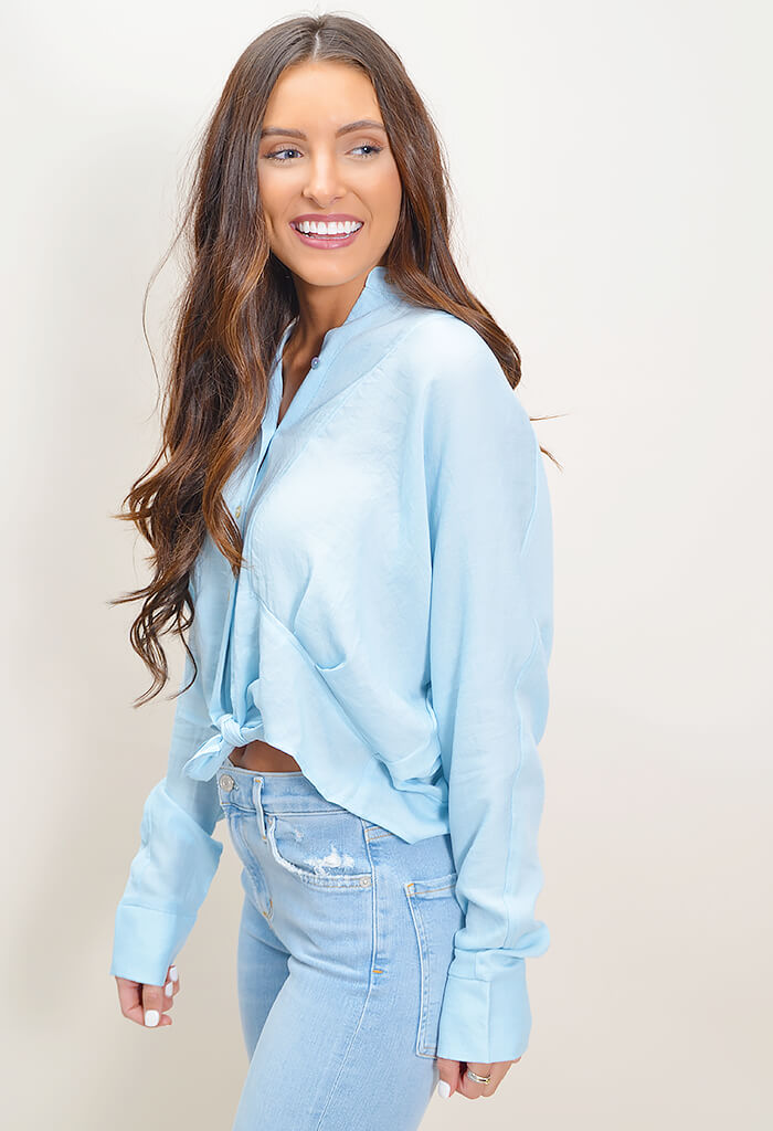 Lindsay Buttondown Top