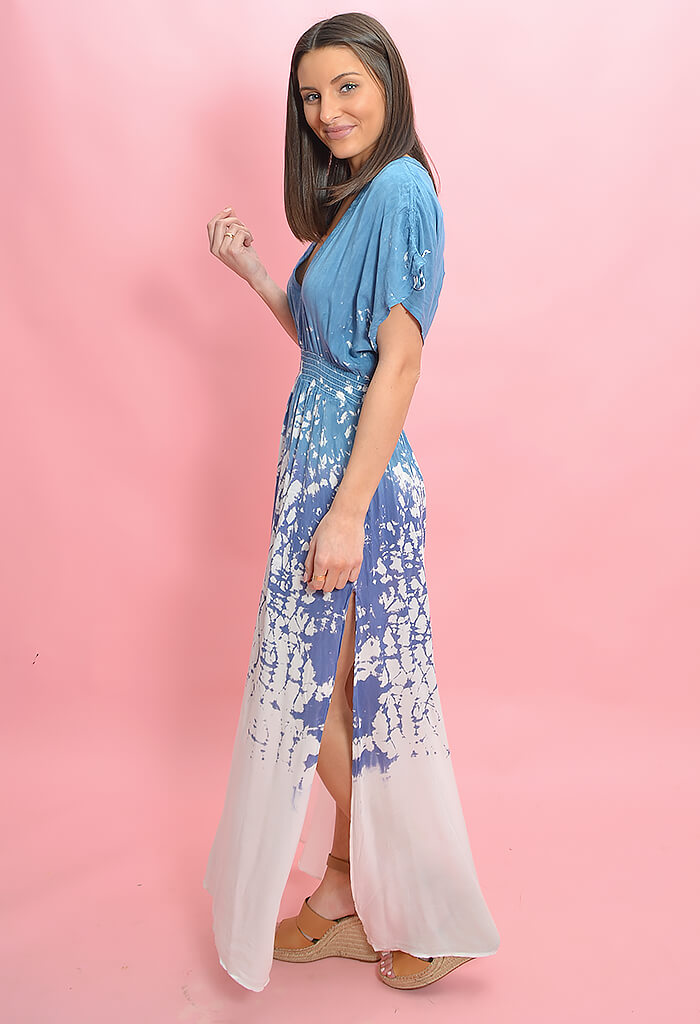 Vintage Havana Take a Dip Maxi Dress