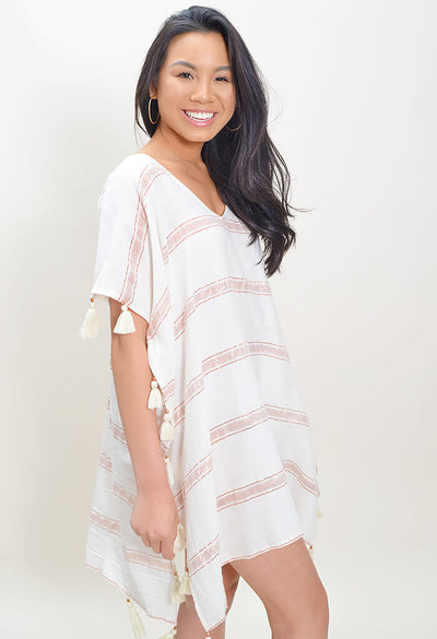 Rose Quartz Tunic Top