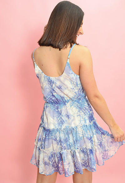 Ocean Dive Mini Dress