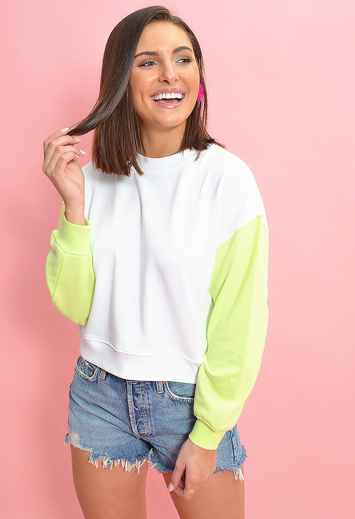 The Color Block Sweatshirt