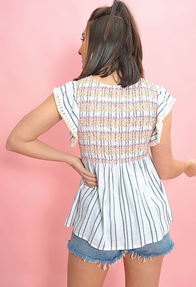 Sweet Stripe Top