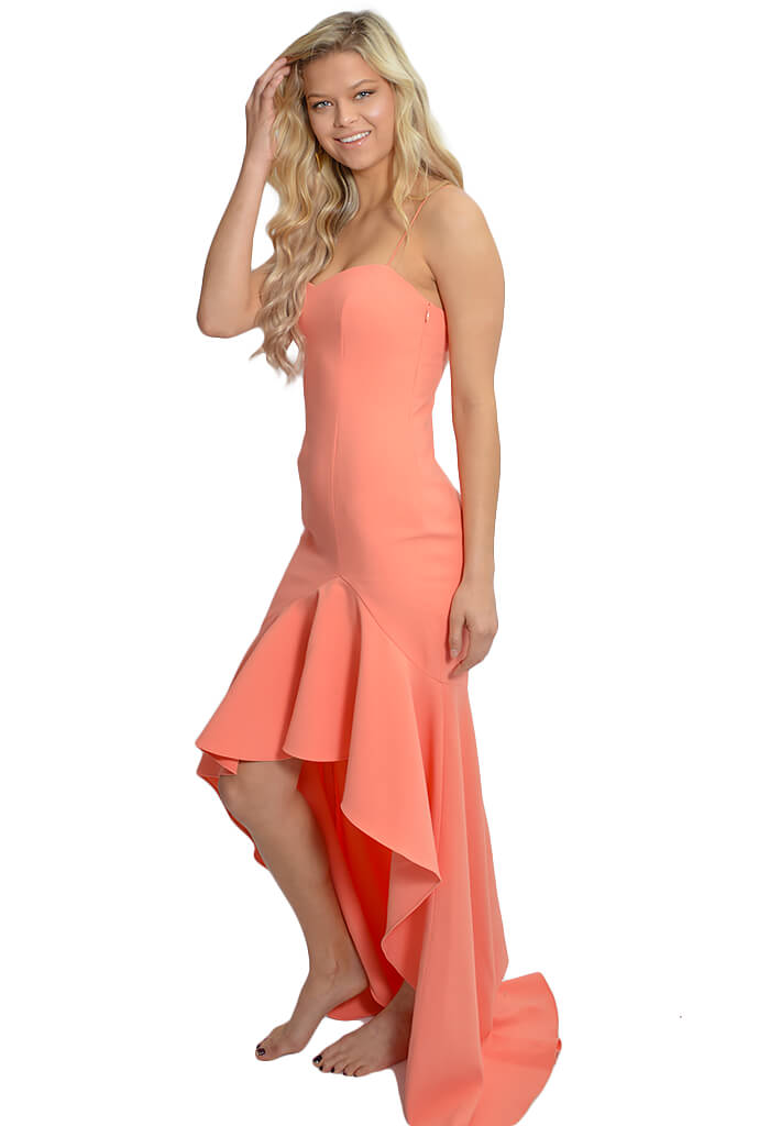 Likely-Peach Vita Gown