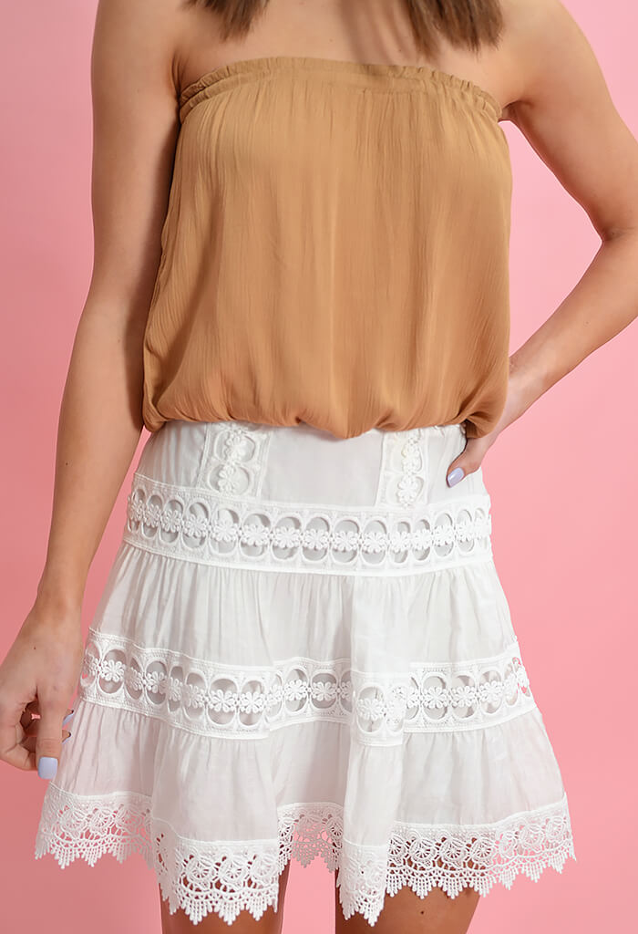 Elan Afternoon Tea Skirt