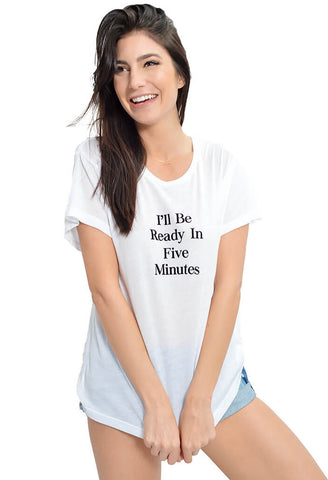 Ready in Five Tee