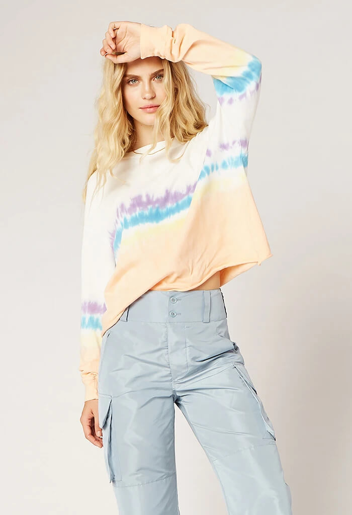 Sherbert tie dye long sleeve