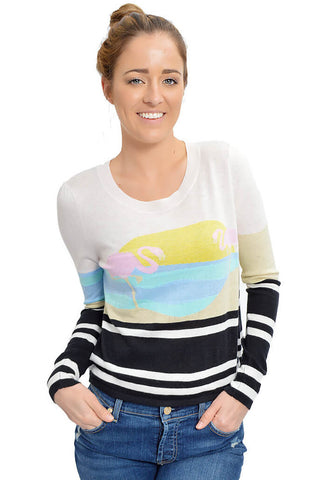 Harbour Sunset Donde Sweater