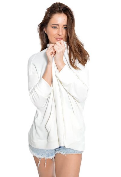BB Dakota Halee Ivory Cardigan