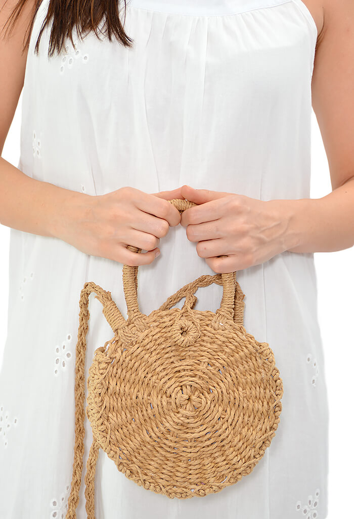 KK Bloom Boutique Sea Straw Bag