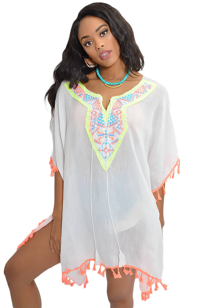 Neon Ray Beach Tunic