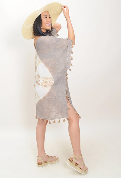 Splash Tunic - Taupe