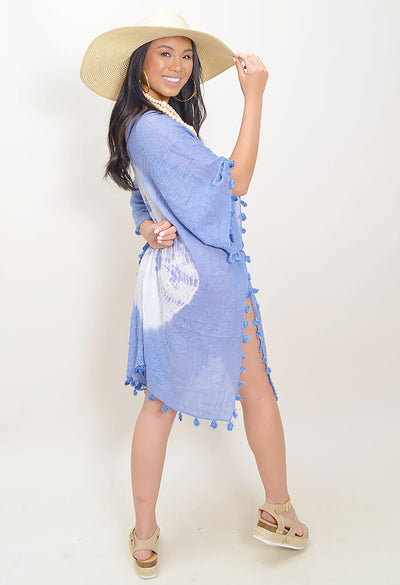 Splash Tunic - Blue