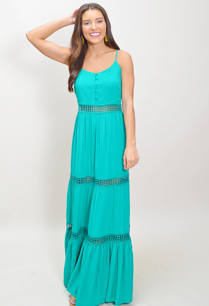 Sunshine of My Life Maxi Dress