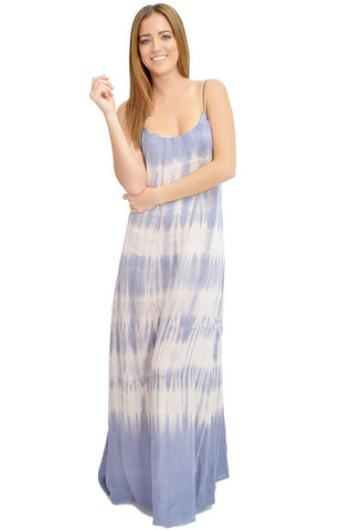 Kate Maxi Slip Dress- Violet