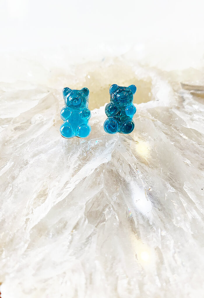 Gummy Bear Studs-Blueberry