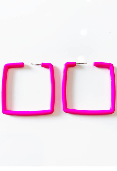 Kelly Hoops-Neon Pink