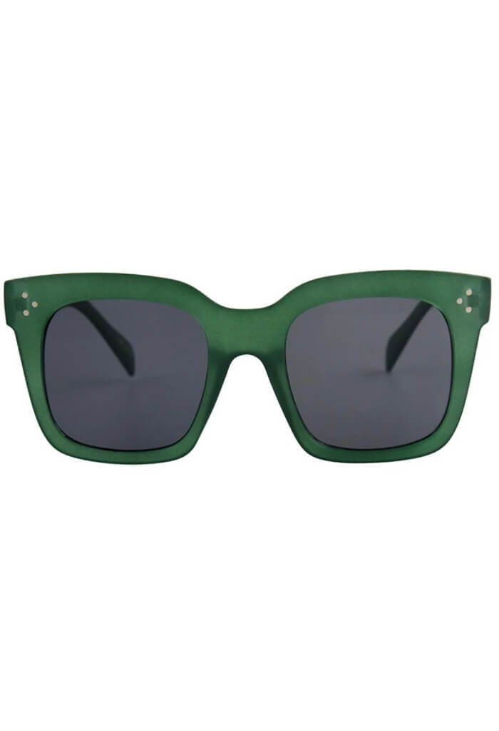 ISEA Waverly Sunglasses in Green Smoke