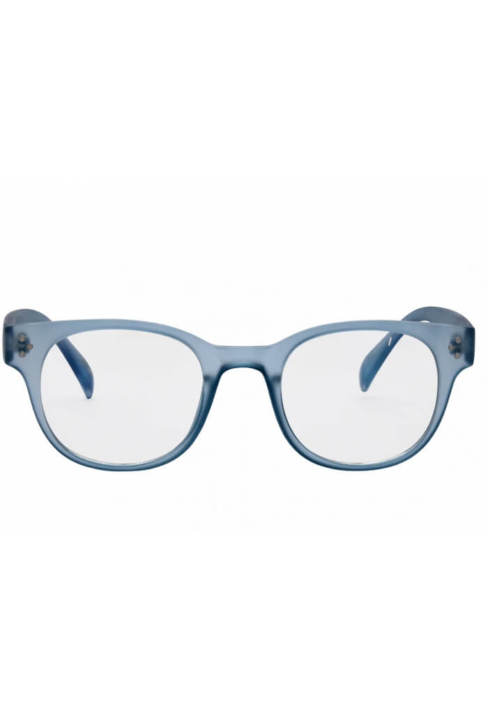 Petra Blue Light Glasses in Baby Blue