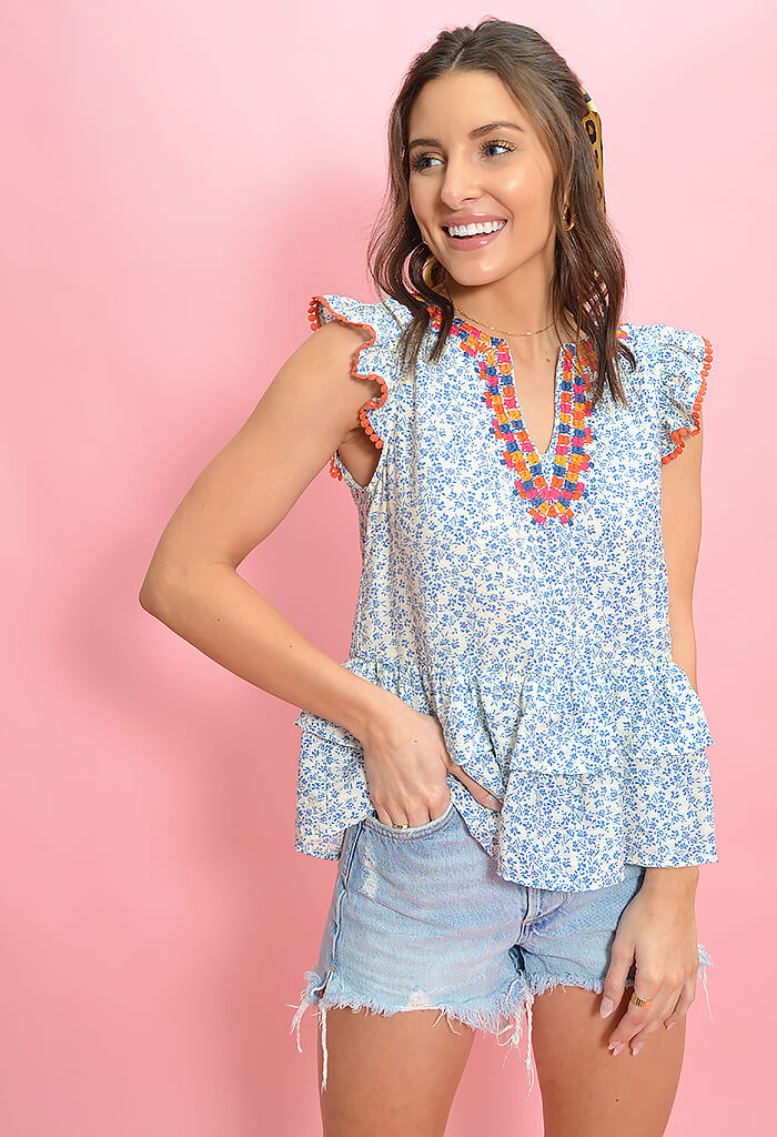 THML Summer Day Blouse