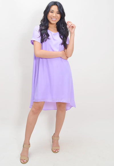 Lilac Lynzi Shift Dress