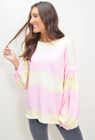 Feels Right Pullover - Pink
