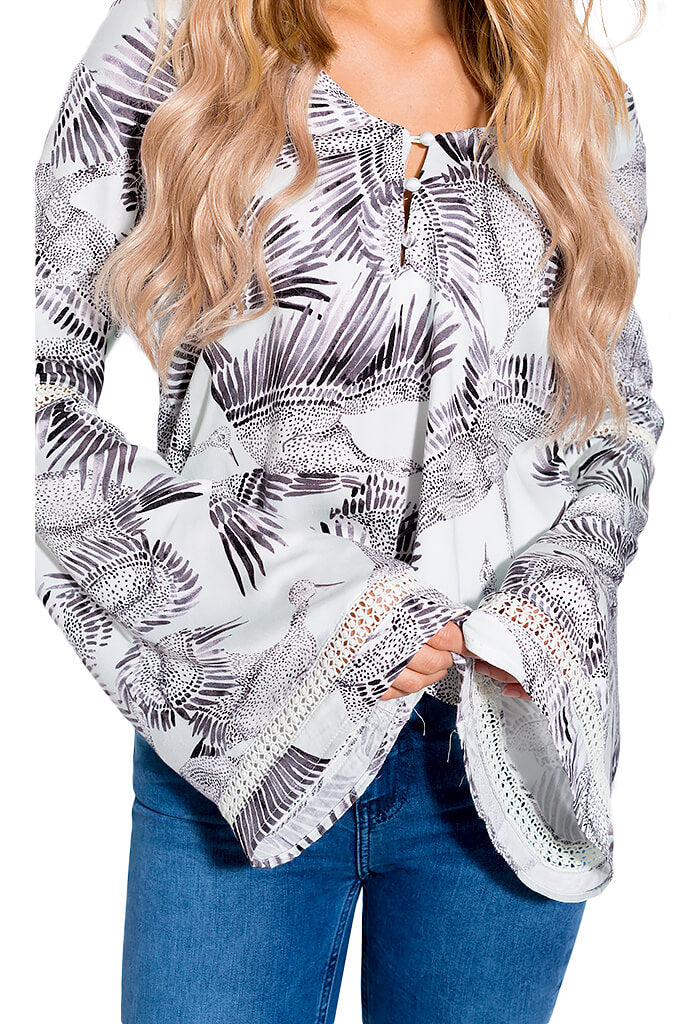 Taking Flight Blouse