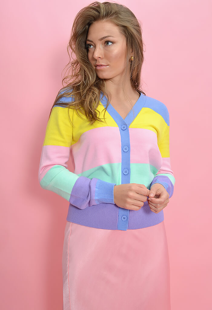 KK Bloom Cotton Candy Dream Cardigan