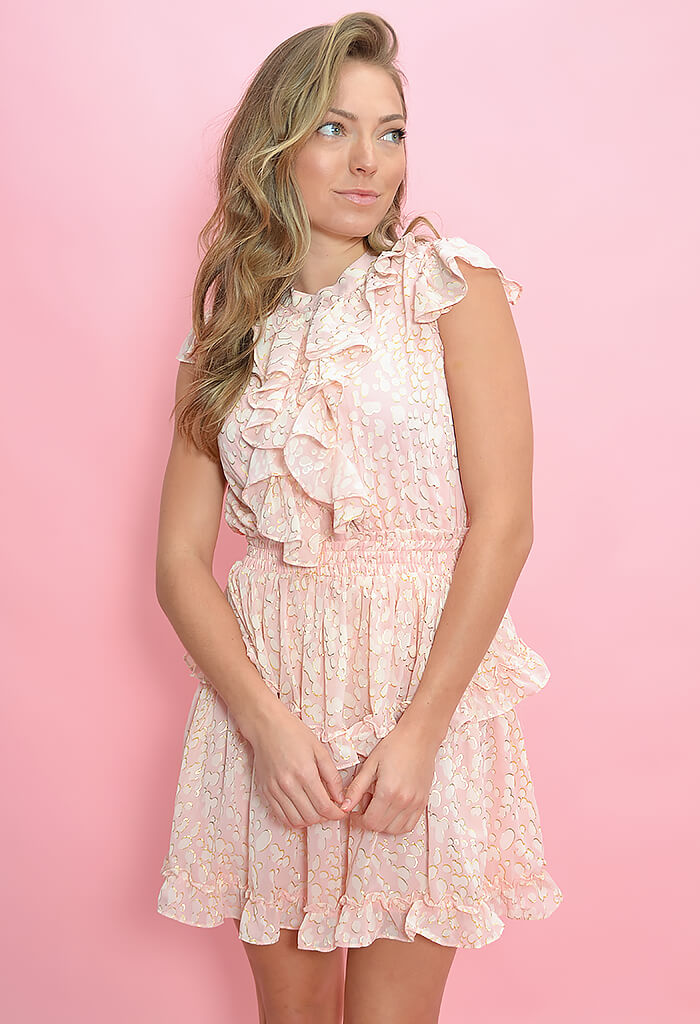 Buddy Love Astrid Dress in Bubble Bath