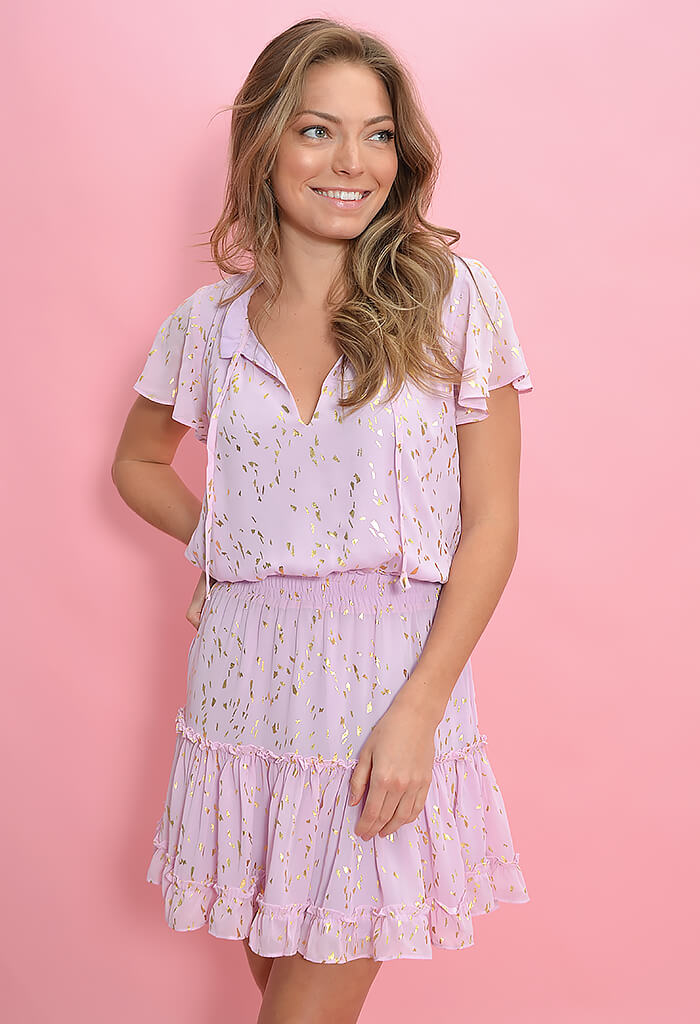Buddy Love Roxy Dress in Carnation