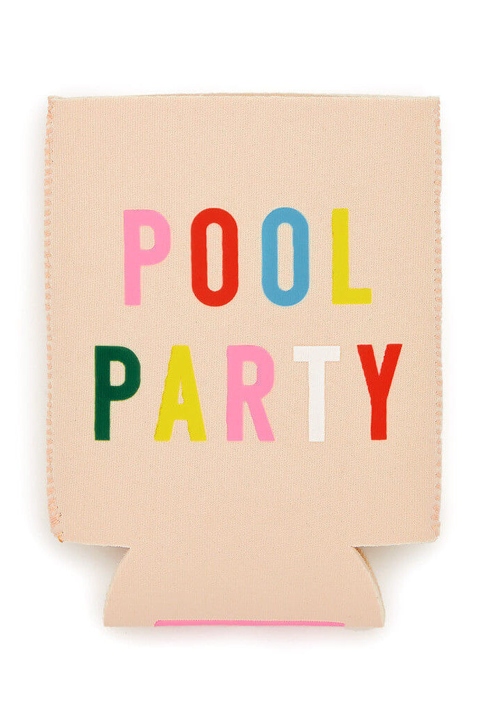 ban.do too cold to hold drink sleeve - pool party