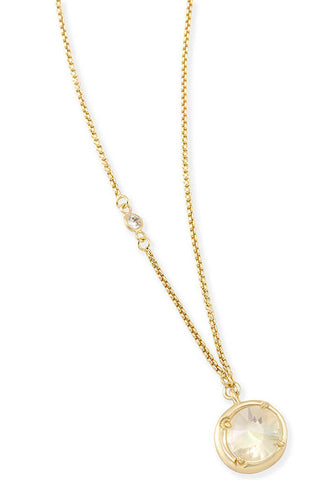 Quinn Pendant Necklace in Gold