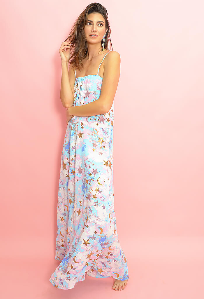 Misha Maxi Dress-Cloud Nine