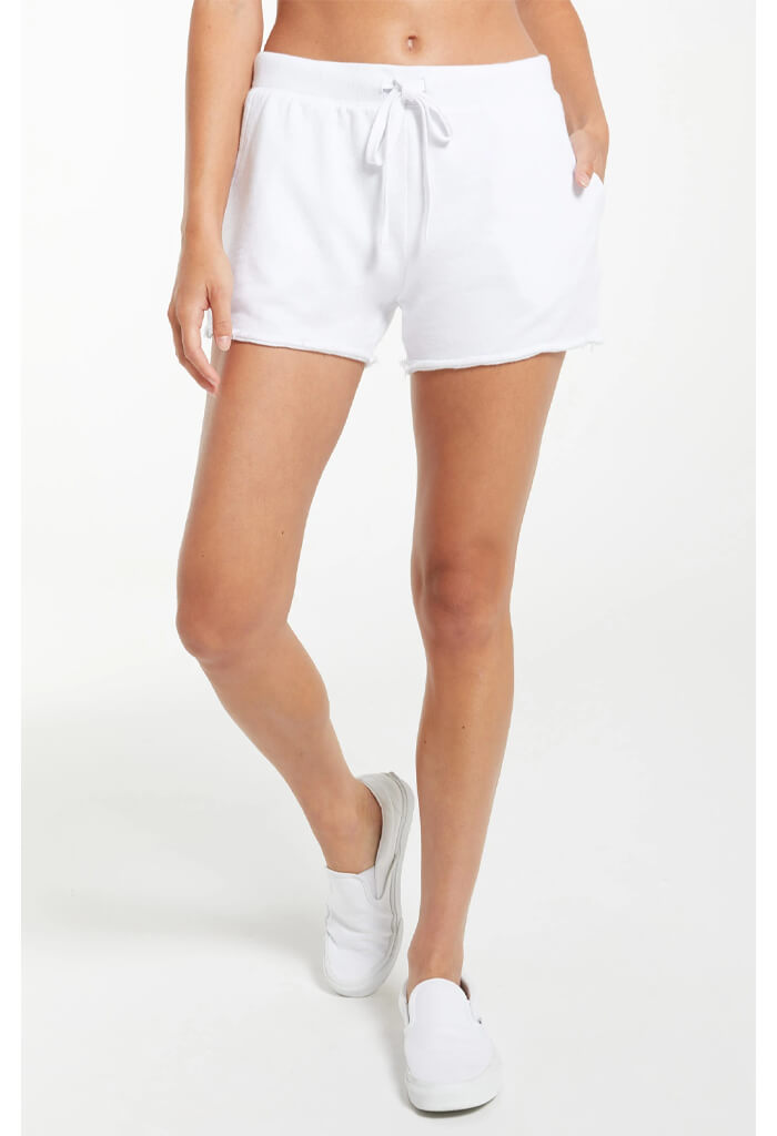 Z Supply Marina Washed Short-White