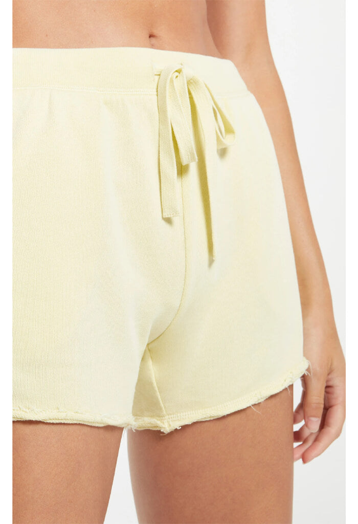 Z Supply Marina Washed Short-Key Lime