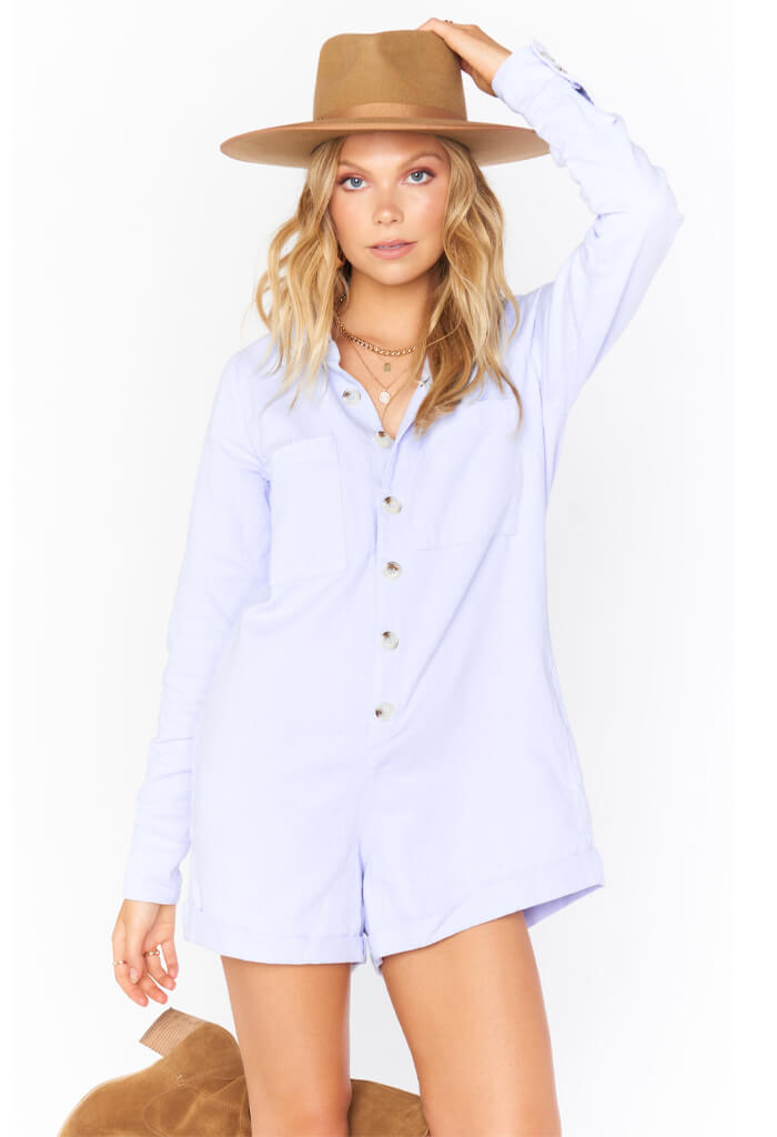 Show Me Your Mumu Tegan Jumper-Periwinkle