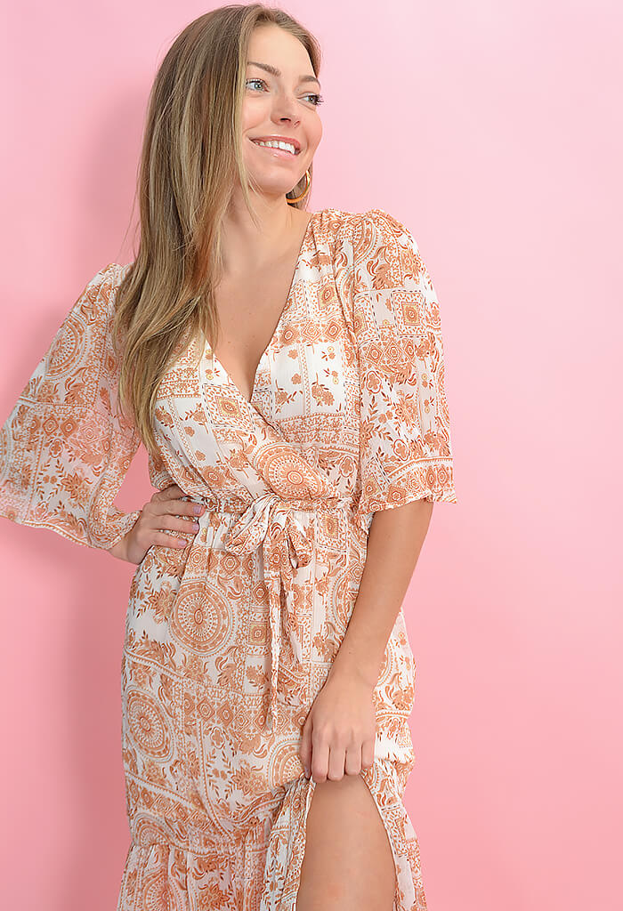 Minkpink Jaipur Midi Dress