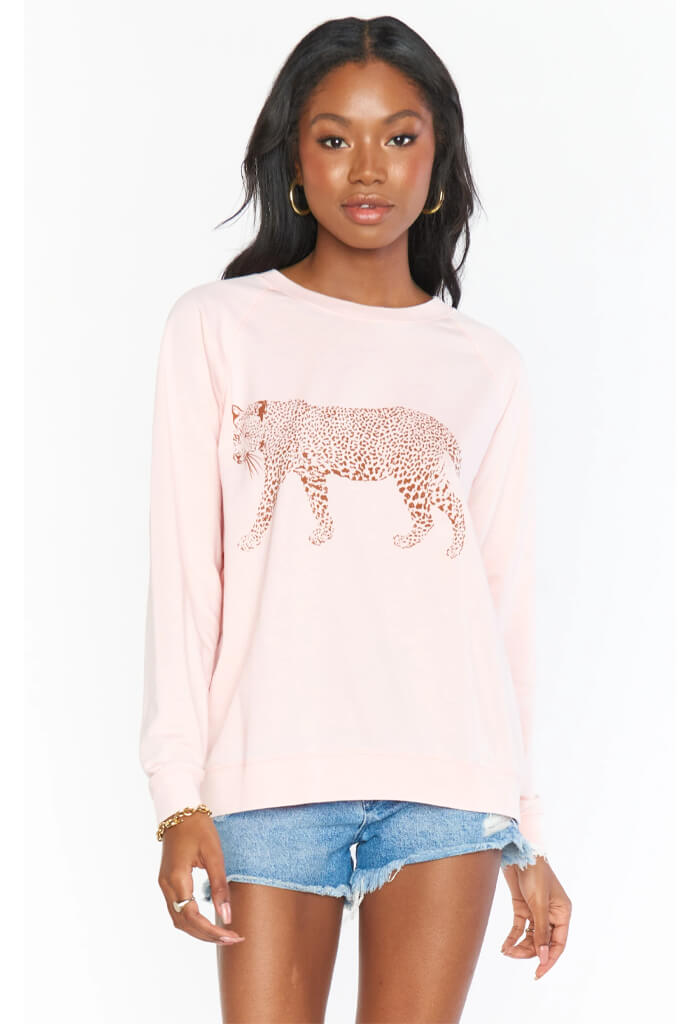 Posie Pullover-Jungle Leopard
