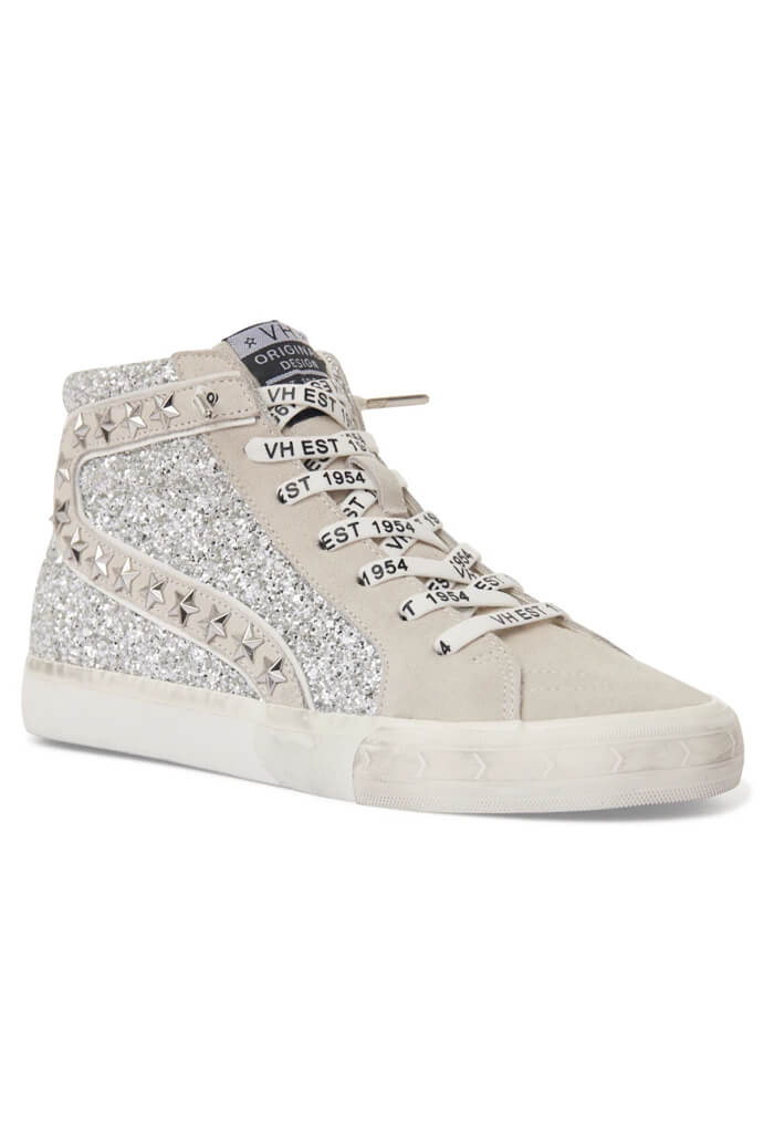 Vintage Havana Ray High Top-Silver Glitter Multi