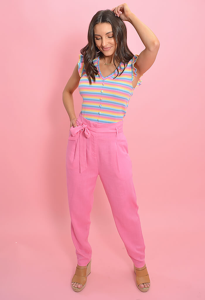 FRNCH Pensee Rose Pants