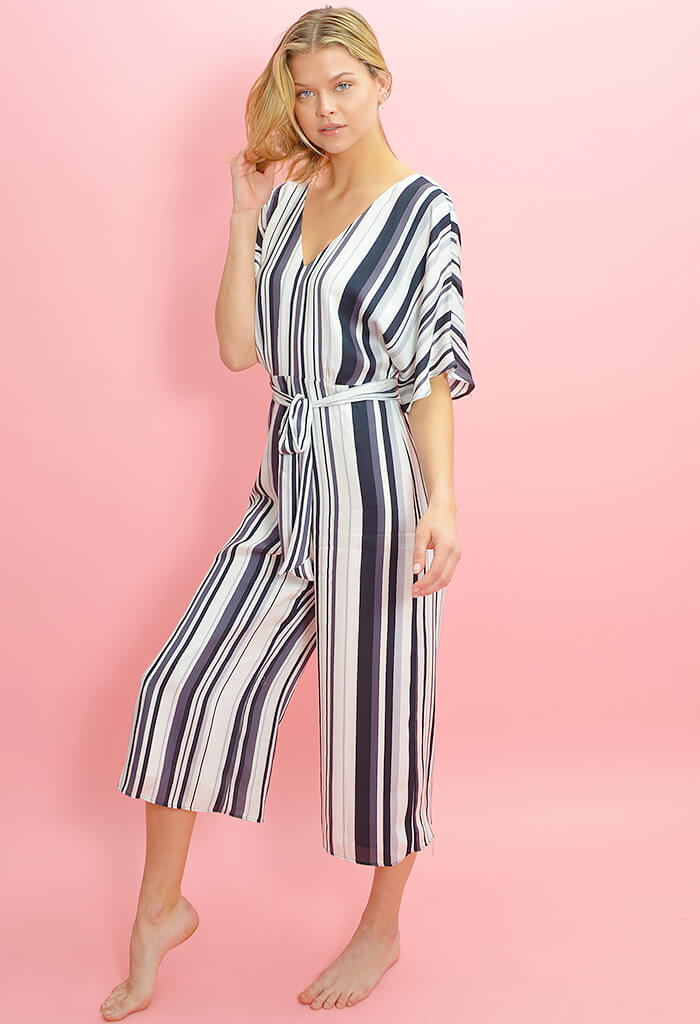 Soho Stripe Jumpsuit