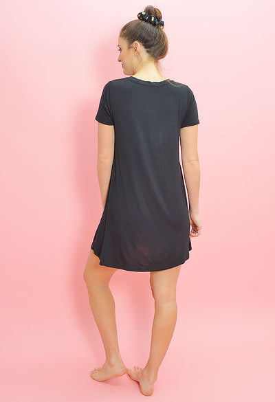 The Crisscross Tee Dress