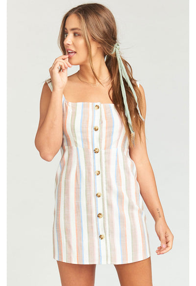 Cora Dress ~ Shorebert Stripe