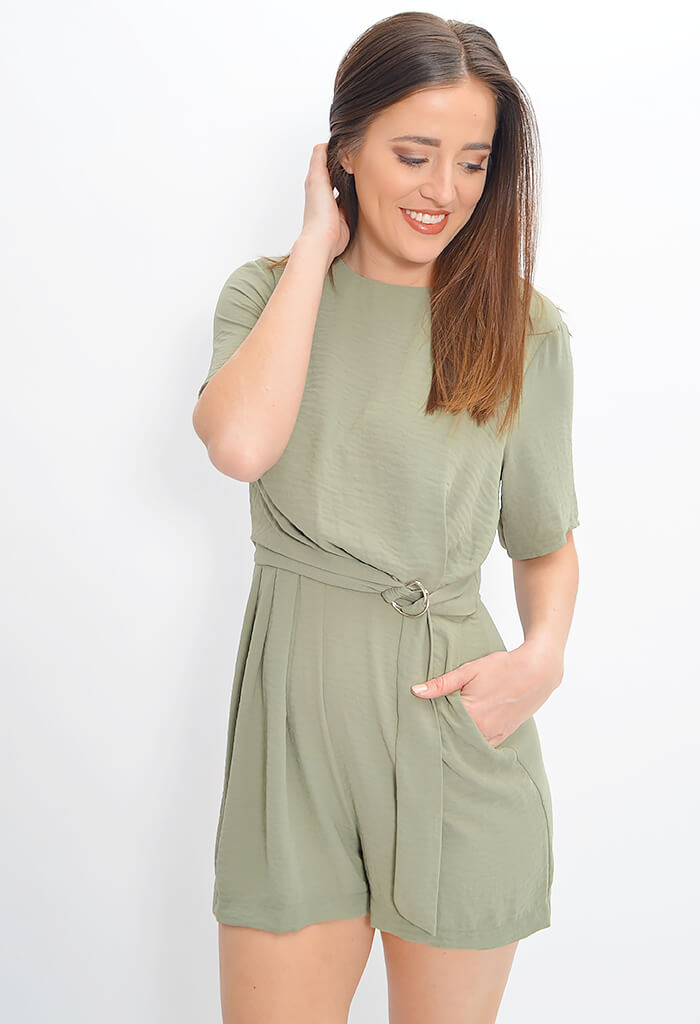 D-Ring Waiststrap Playsuit