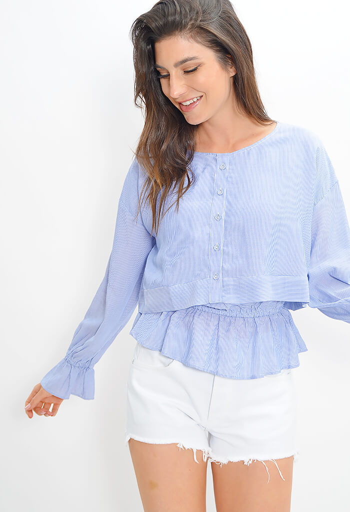 Juniper Blouse Monaco Blue